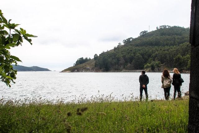 entorno castillo San Felipe en Ferrol