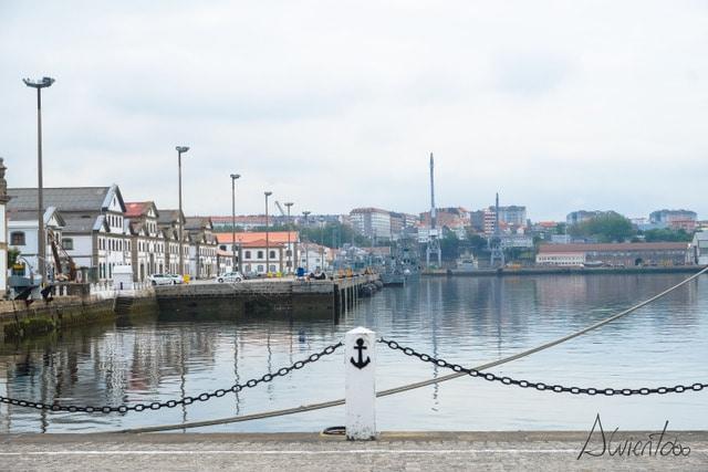 visitar el arsenal militar de Ferrol