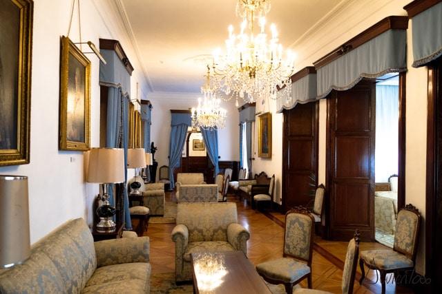 visita al palacio de capitania en Ferrol