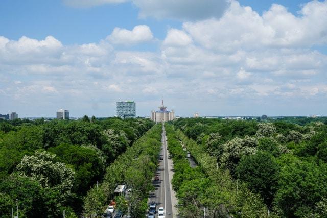 Arco del Triunfo en Bucarest