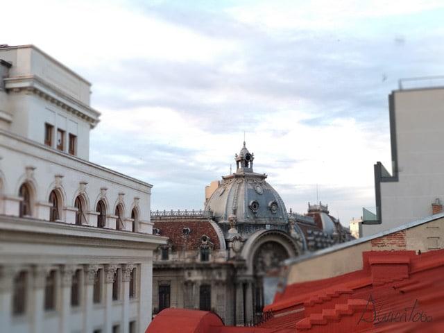 tejados de Bucarest