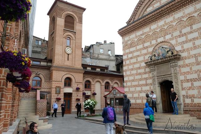 Iglesias en Bucarest. Viaje a Bucarest