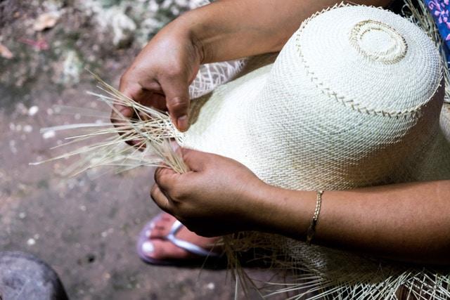 10 cosas que ver en Campeche- sombreros jipijapa
