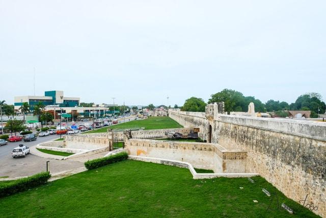 Que ver en Campeche- murallas en Campeche