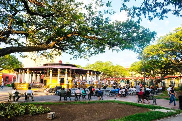 Plaza de la independencia de Campeche