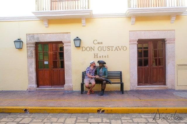 Que ver en Campeche- Hotel Boutique Casa D.Gustavo en Campeche