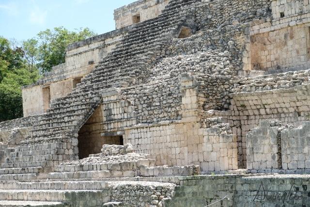 Edzna una gran metrópolis del mundo maya