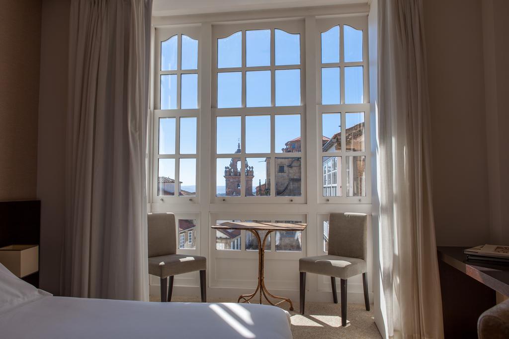 hoteles en Santiago bien situados