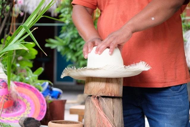 10 cosas que ver en Campeche- sombreros jipi