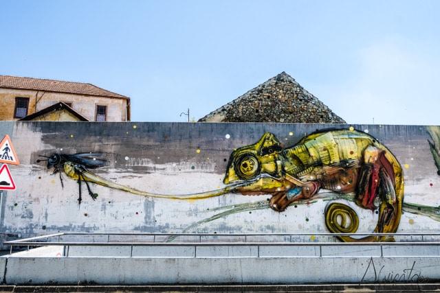 Bragança capital de arte urbano