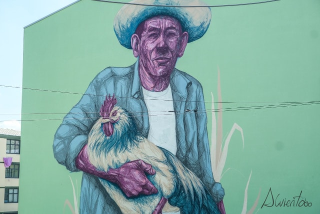 Grafittis en Bragança