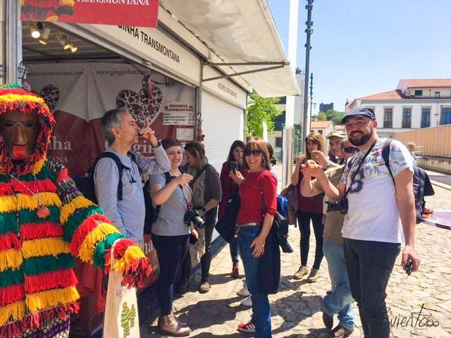Feria de Artesanato en Bragança
