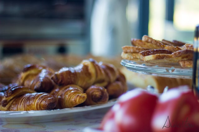 desayuno en hotel Quinta de San Amaro