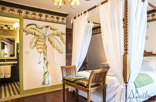 habitaciones de la Quinta de San Amaro