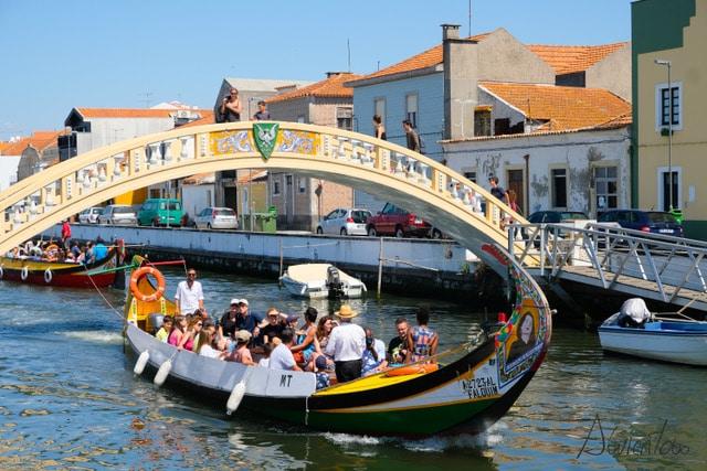 Paseo en barco Moliceiro en Aveiro