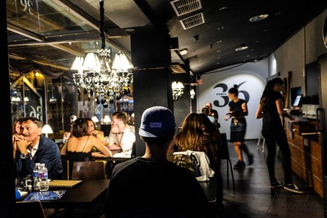 Restaurante Porta 36 en Aveiro.