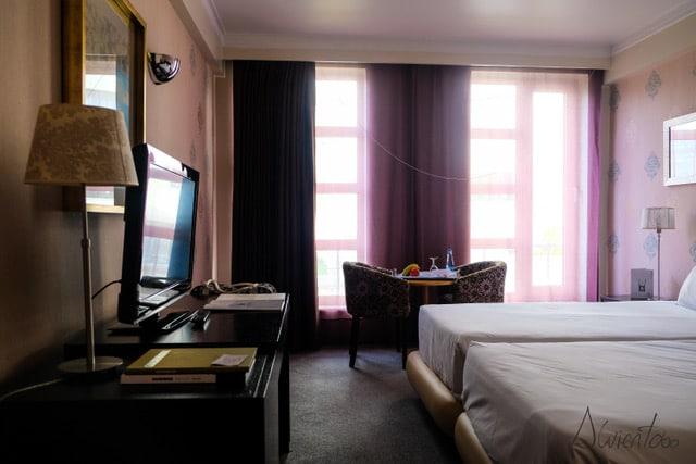 hotel as Américas en Aveiro