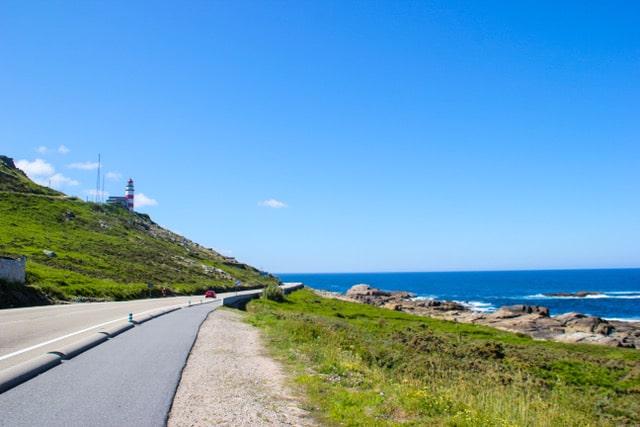 Camino de Santiago portugués por la costa