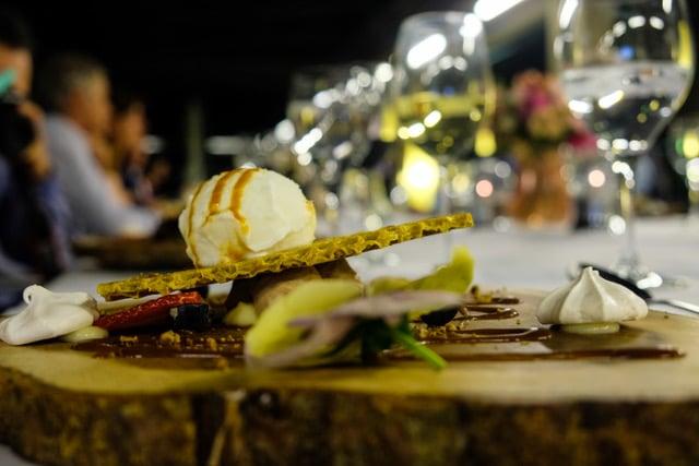 Restaurante del Talaso Atlantico con javier fins