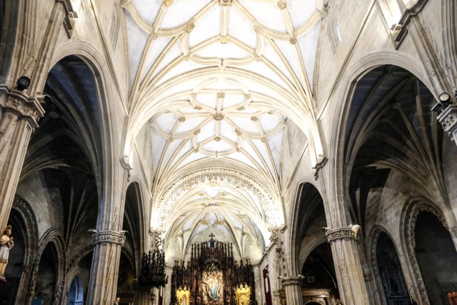 Camino portugués iglesia de Santa Maria