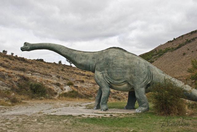 Barranco Perdido en Enciso y sus dinosaurios