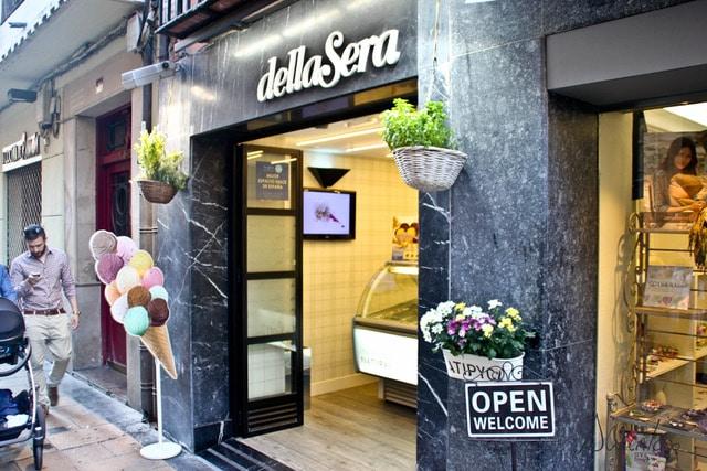 heladería Dellasera en Logroño
