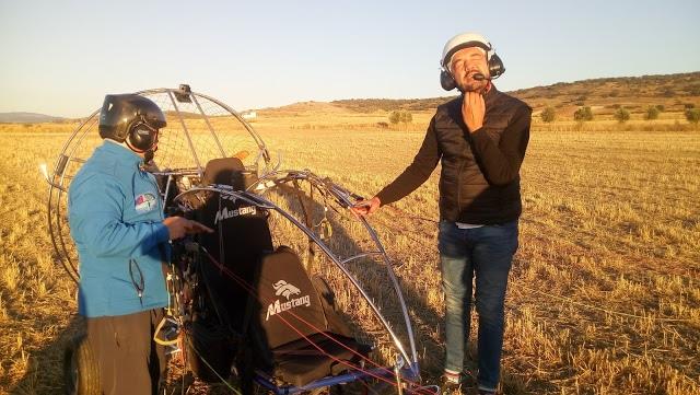 Volar en parapente en La Rioja un fin de semana