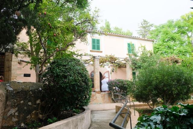 El pueblo de Calvià en Mallorca