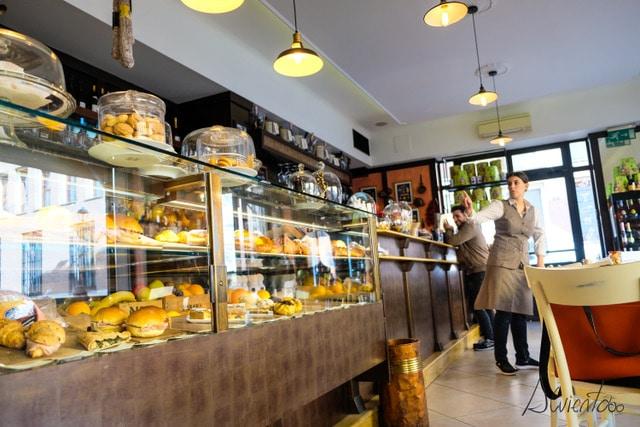 un día en Modena, donde tomar café