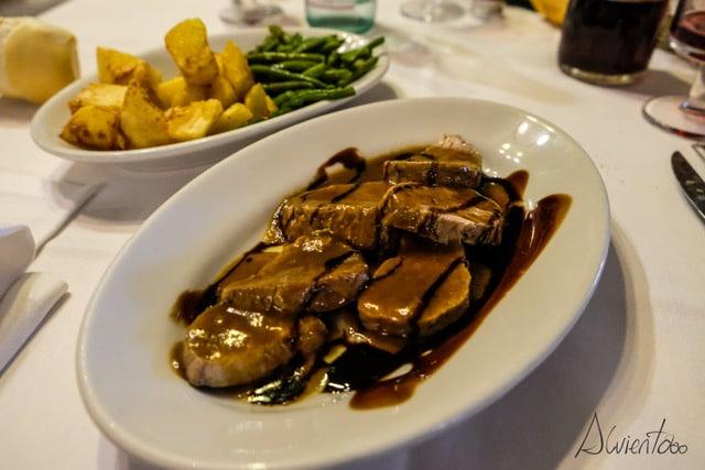 Comer en Módena. Trattoria Aldina.