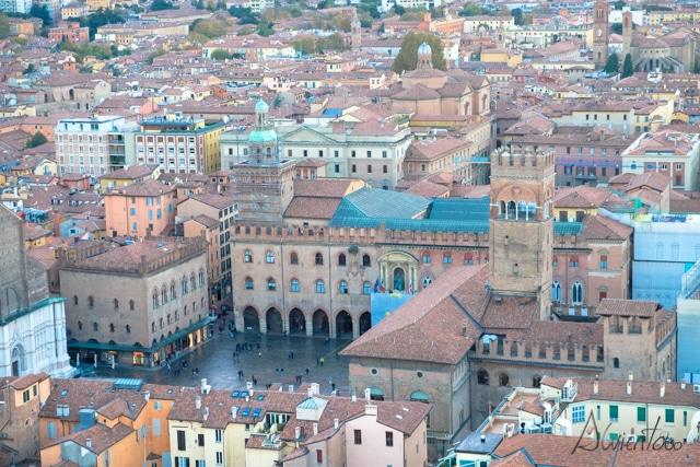 Bolonia desde Due Torri