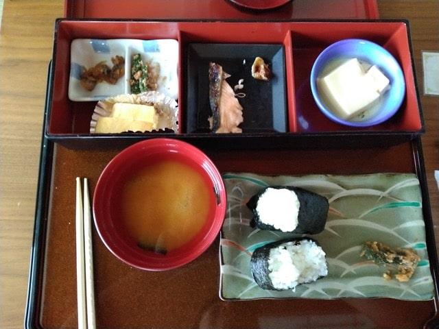 Desayuno tipico en Japon
