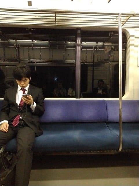 Tren Chiba en Japon