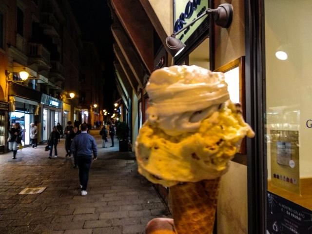 helados en italia