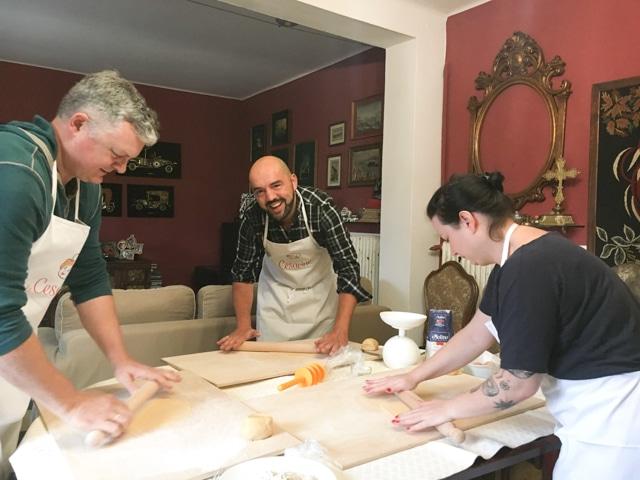 blogger clases de cocina en Bolonia