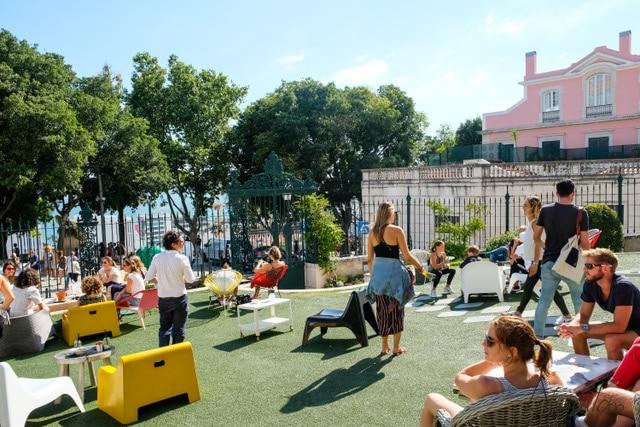 donde comer en Lisboa en una terraza