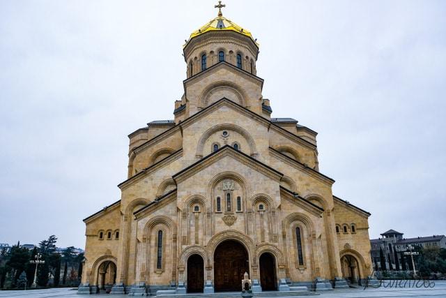 Catedral de Tsminda Sameba o Catedral de la Santisima Trinidad