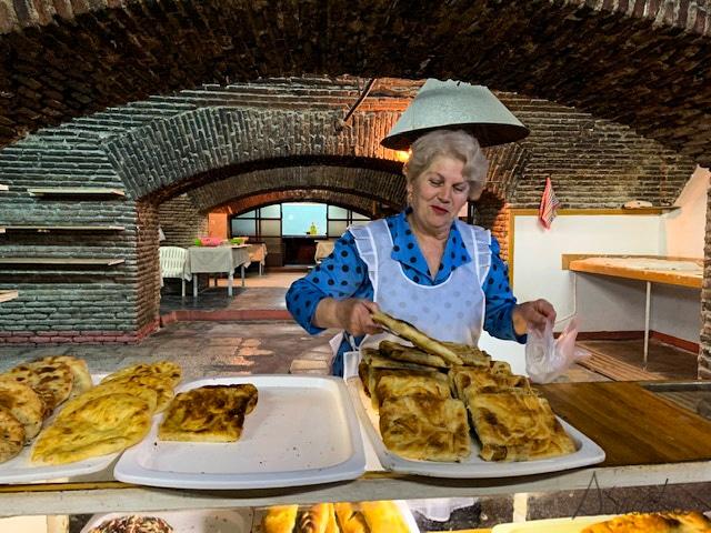 comer en Tiflis