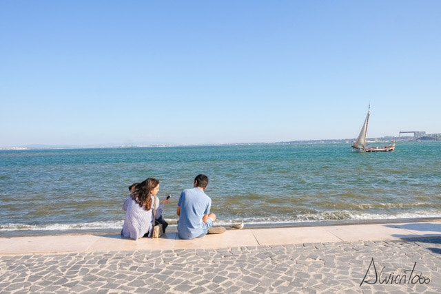 Lisboa y el mar