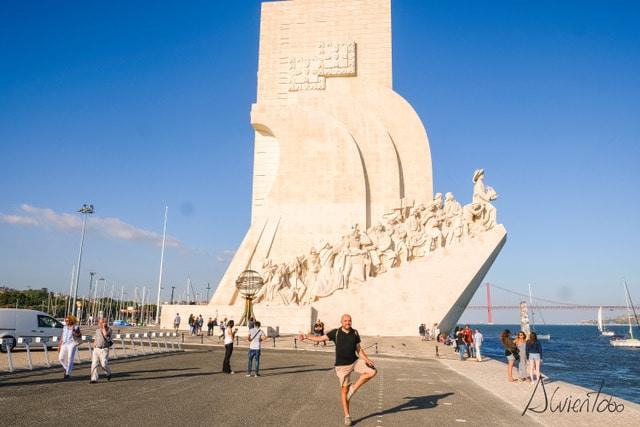 torre de los descubrimientos en Lisboa
