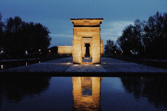 Templo de Debob en Madrid