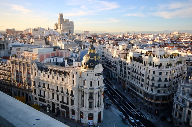 Circulo de Bellas Artes en Madrid
