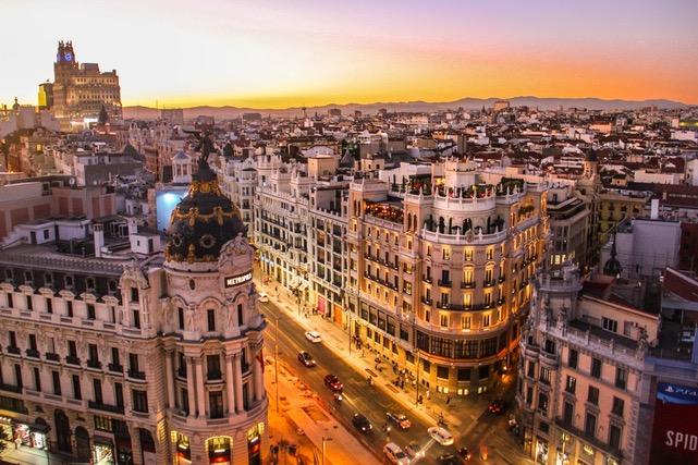 Madrid visto desde lo alto