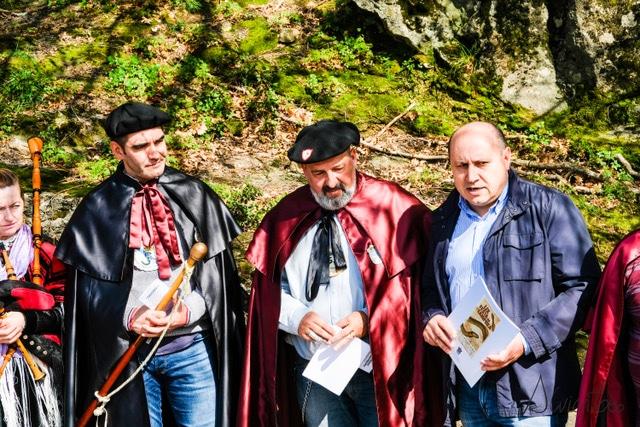 cabaleiros da lamprea en Arbo