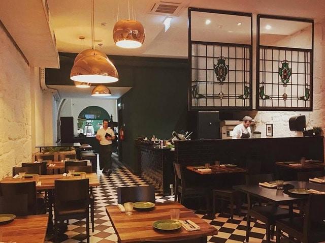 restaurante Typograpya en Oporto