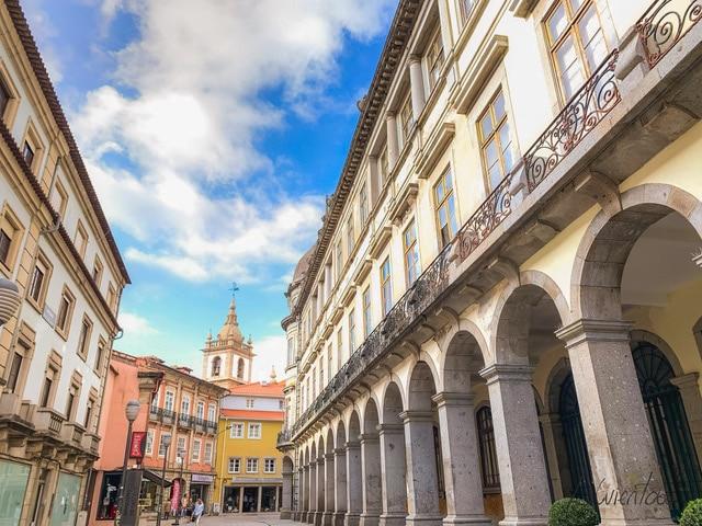 Calle para instagram en Braga
