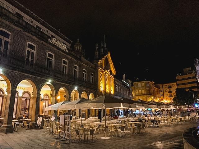 Fotos de Braga de noche