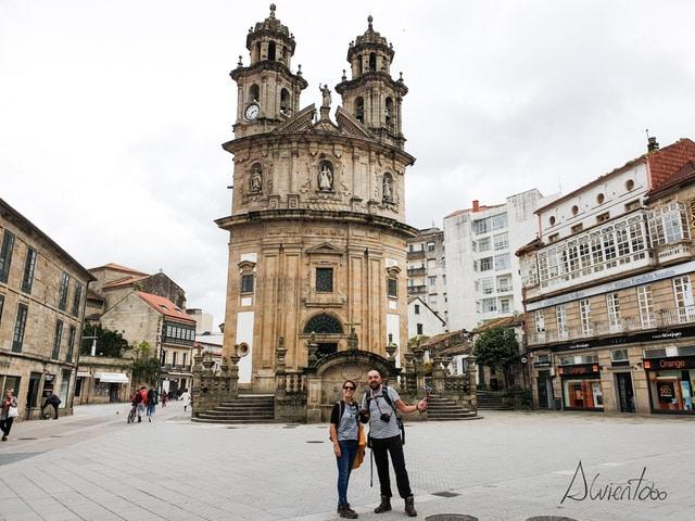 Camino portugués en Pontevedra