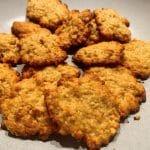 Receta fácil de galletas de avena
