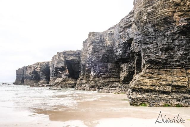 Praia das Catedrais en Galiza